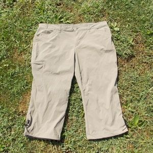 Eddie Bauer Nylon Hiking Capris Size 16